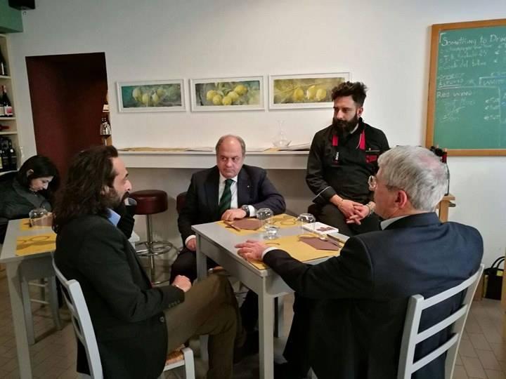 Marie benoit s diary accademia italiana della cucina s banquet at